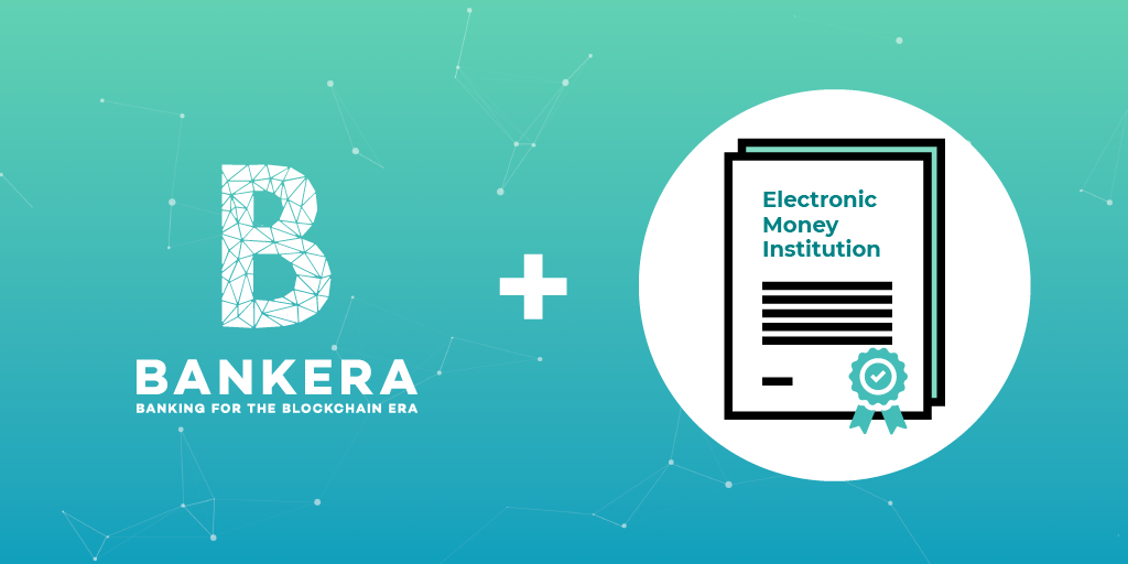 Bankera Partnership with an Electronic Money Institution